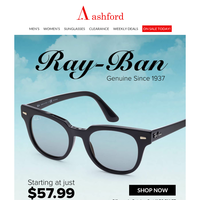 New Arrivals: Ray-Ban