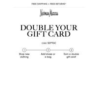 Final hours: Double your gift card on Jimmy Choo, Chloé & more