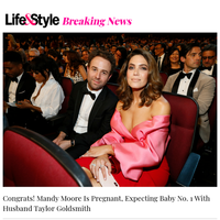 BREAKING: Mandy Moore Is Pregnant, 'This Is Us' Star Expecting Baby No. 1 With Husband Taylor Goldsmith