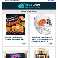 👻  Spooktacular Halloween-Candy Deals!