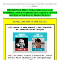 New York Plea: Sink Mitch McConnell