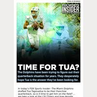 """🏈  Is it """"Tua Time"""" in Miami?"""