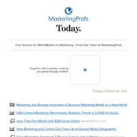 Marketing just became invaluable | B2B content marketing benchmarks, trends | Earned media | Sales and Marketing alignment