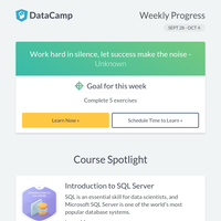 New courses in R and SQL!