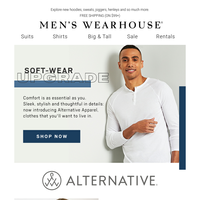 Meet Alternative Apparel: the newest (and softest) member of the family.