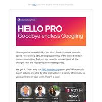 Goodbye endless Googling