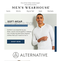 Upgrade your casual essentials with NEW Alternative Apparel