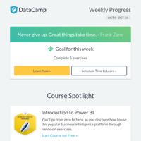 Course Spotlight: Intro to Power BI