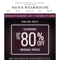 Ending soon: designer suits from $119.99 + 2/$35 dress shirts!