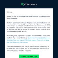 Meet the new DataCamp!