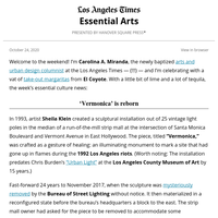 Essential Arts: 'Vermonica' finds a new home