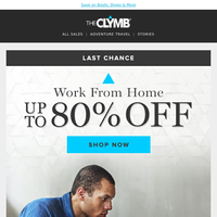 Last Chance: Work From Home Sale