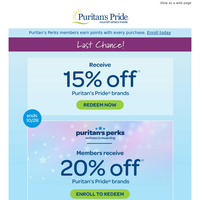 This 15% off deal's on it's way out