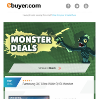 More Monster Deals! Devilishly good savings to be had!