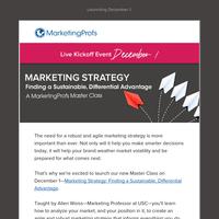 Marketing strategy made easy