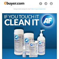 Lock down some great value! AF advanced technology cleaning.