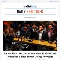 Netflix & Amazon Prep for Oscars Battle; News' Broken Election Data; More 'Borat' Controversy