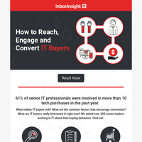 How to Reach, Engage and Convert IT Buyers