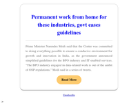 {EMAIL}, Permanent work from home for these industries