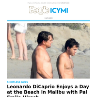 Leonardo DiCaprio goes shirtless with Emile Hirsch, Fox News host caught on hot mic and more stories