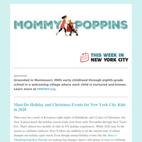 Must-Do Holiday and Christmas Events for New York City Kids in 2020