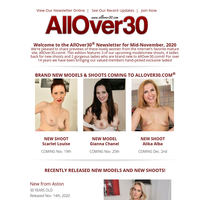 What's New at AllOver30 in Mid-November?