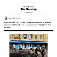 The Morning: Different virus responses