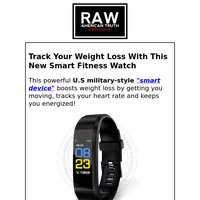 Track Your Weight Loss With This New Smart Fitness Watch