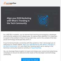 [eBook] What's trending in the tech community?