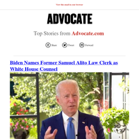 Top Stories from Advocate.com for 11/18/2020