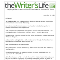 Do this daily to find writing success faster