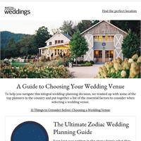 12 Things to Consider Before Choosing a Wedding Venue