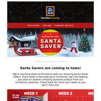Santa Saves have landed!