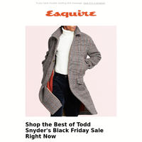 What We Love From Todd Snyder's Black Friday Sale
