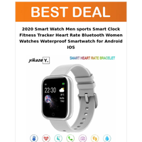 Fitness Tracker Smartwatch @Rs.846.78
