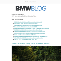 Posts from BMWBLOG for 11/19/2020