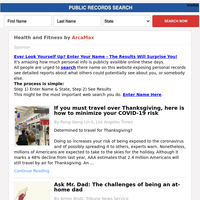 Health and Fitness for Friday November 20, 2020