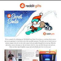 A trip down memory lane with Reddit Secret Santa!