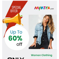 {EMAIL}, Special Offer, Get Upto 60% Off on womens clothing