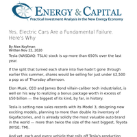 Yes, Electric Cars Are a Fundamental Failure. Here's Why