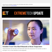 Scientists Create Ultra-Hard Diamonds at Room Temperature / Nvidia: RTX 3000 GPUs Will Remain Hard to Find Into 2021 / Tesla Model 3 Crash Hurls Battery Cells Into Nearby Home
