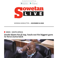 Zondo blows his JZ top, hauls out his biggest guns to force Zuma back   Killer nanny gets 30 years in jail