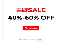 {EMAIL}, Get 40% to 60% off this_festive season!