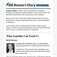 What Argentina can teach us
