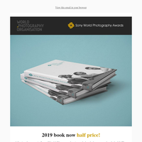 50% off the Sony World Photography Awards 2019 book