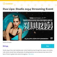 This Friday! Stream Dua Lipa's \