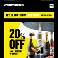 🍾 A Black Friday bubbly deal 🍾