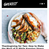 Make a Cozy Thanksgiving for Two