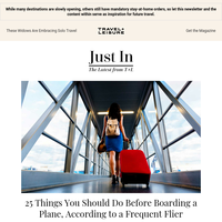 25 Things You Should Do Before Getting on a Flight