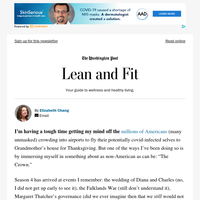 """Lean and Fit: Thanksgiving and """"The Crown"""""""